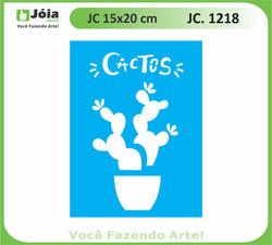 stencil JC 1218