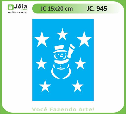 stencil JC 945