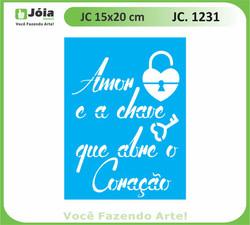 stencil JC 1231