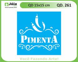 stencil QD 261