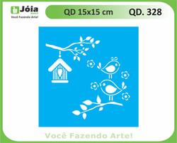 stencil QD 328