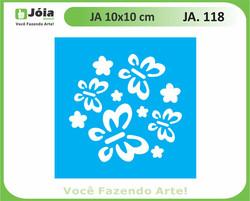stencil JA 118