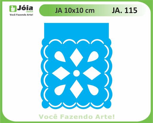 stencil JA 115