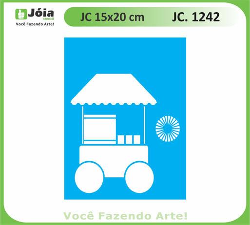 stencil JC 1242