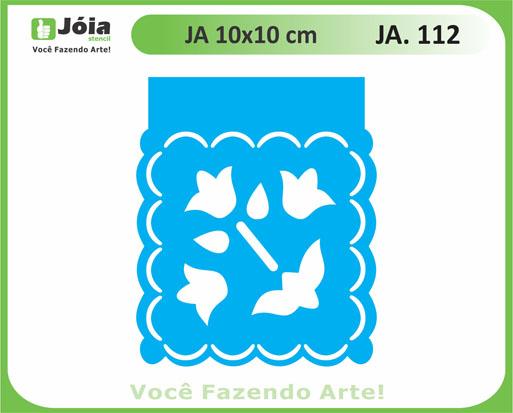 stencil JA 112