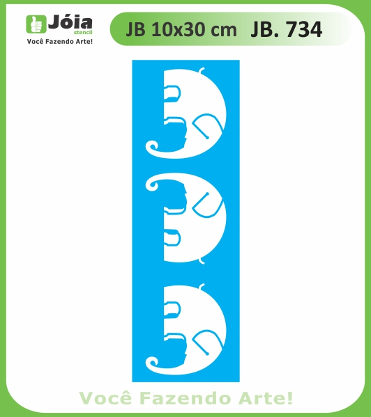 Stencil JB 734