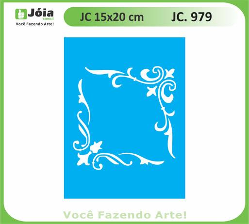 stencil JC 979