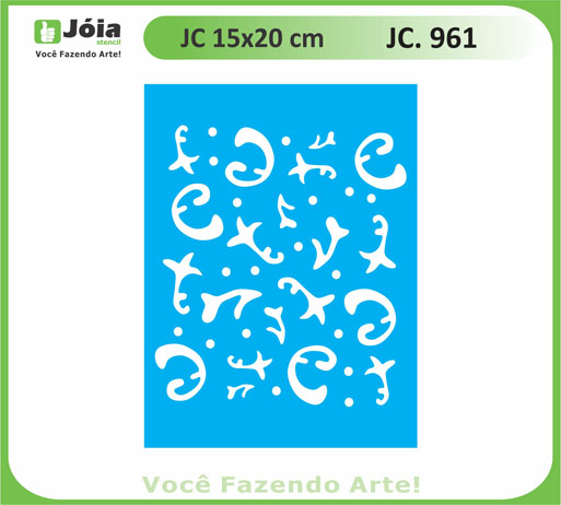 stencil JC 961
