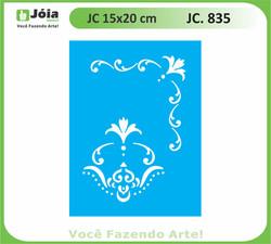 stencil JC 835