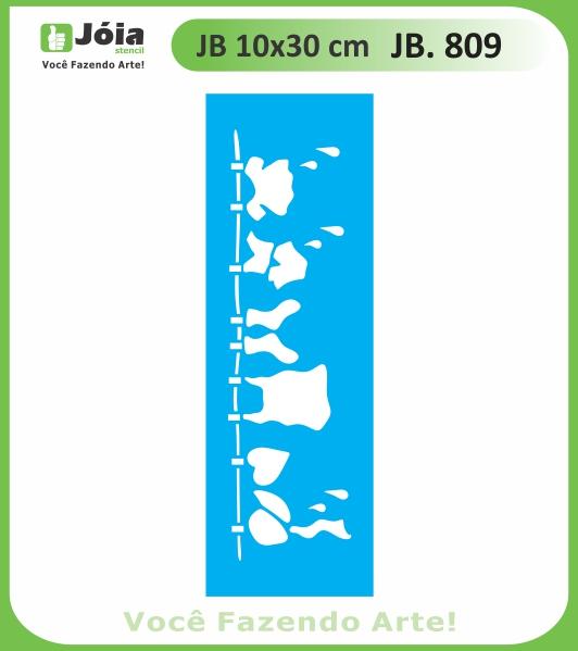 Stencil JB 809