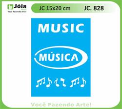 stencil JC 828