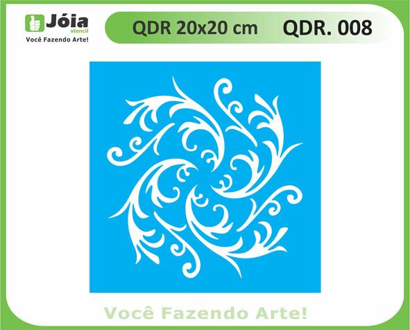 stencil QDR 008