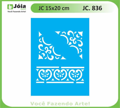 stencil JC 836
