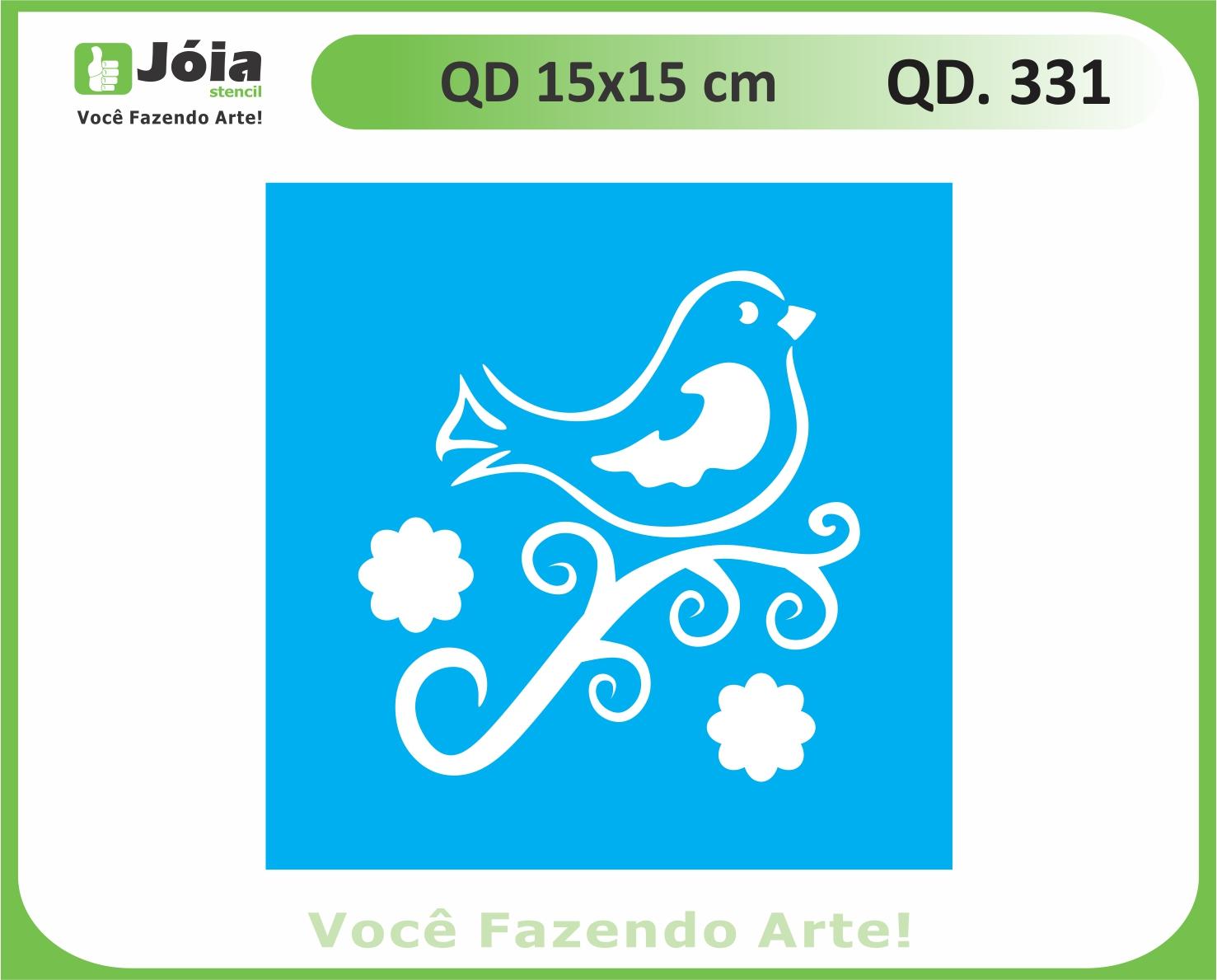 stencil QD 331