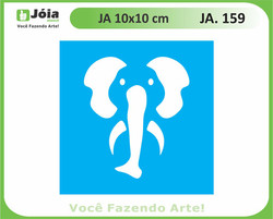 stencil JA 159