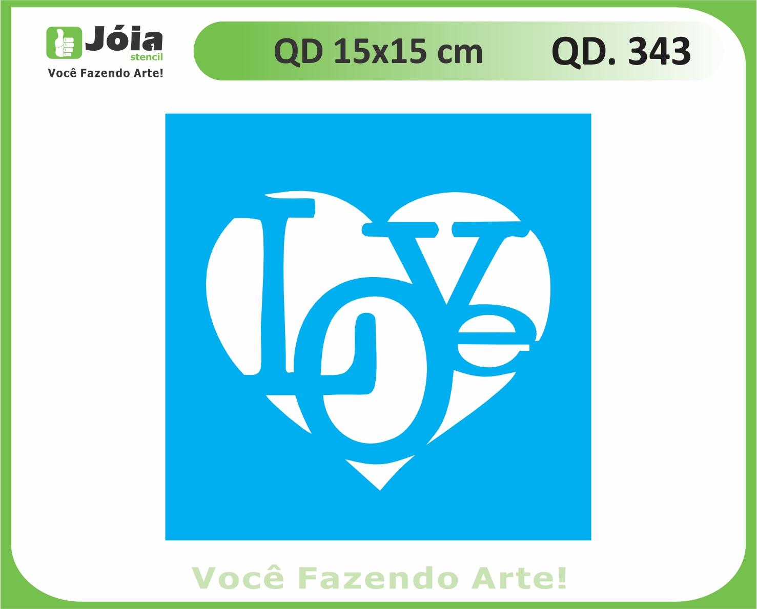 stencil QD 343