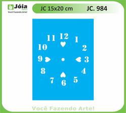 stencil JC 984