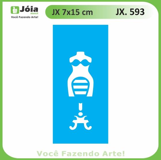 Stencil JX 593