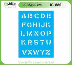 stencil JC 886