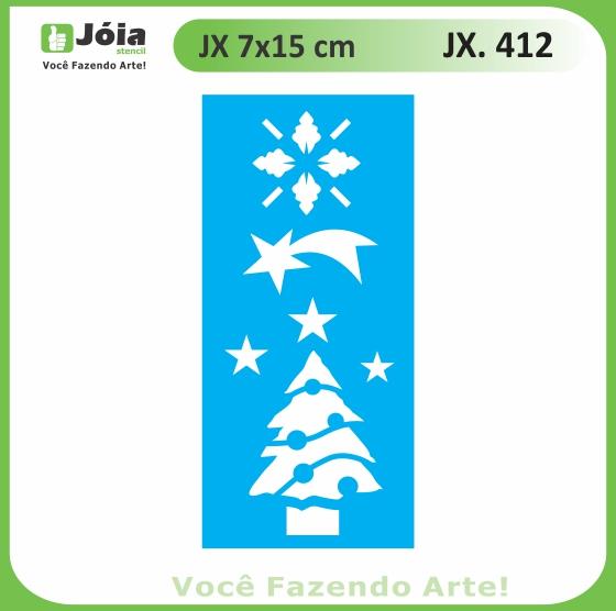 Stencil JX 412