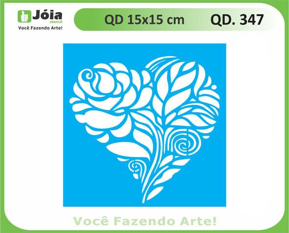 stencil QD 347