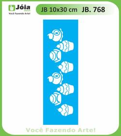Stencil JB 768