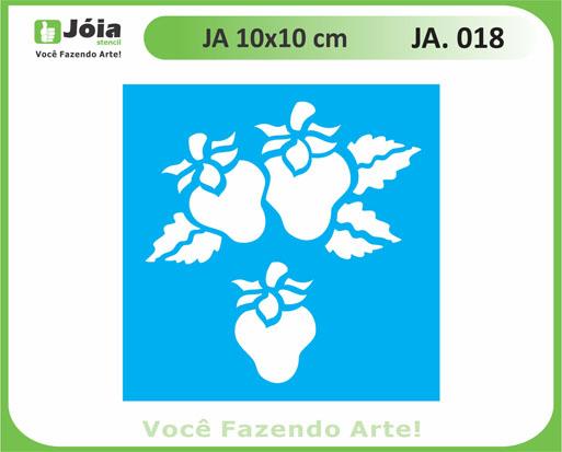 stencil JA 018