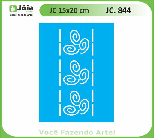 stencil JC 844