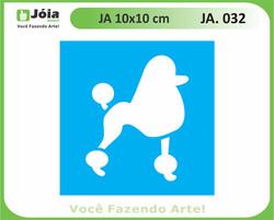 stencil JA 032