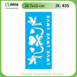 Stencil JX 435