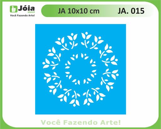 stencil JA 015