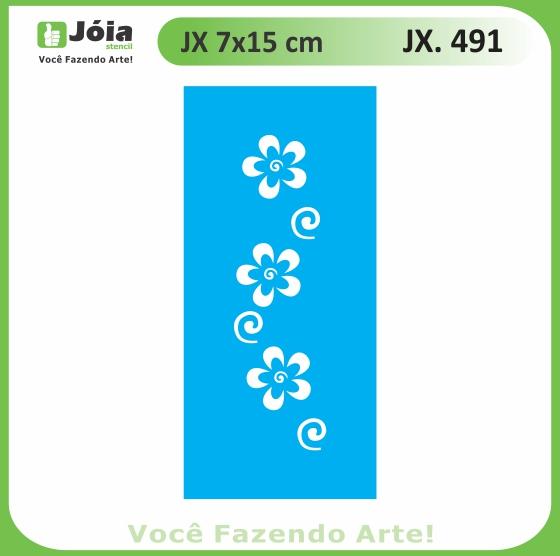 Stencil JX 491