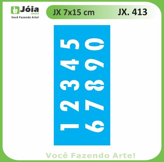 Stencil JX 413