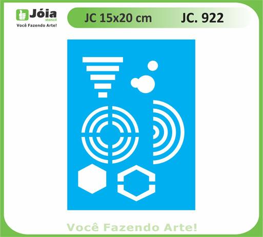 stencil JC 922