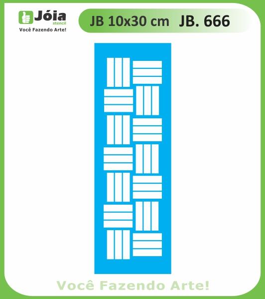 Stencil JB 666