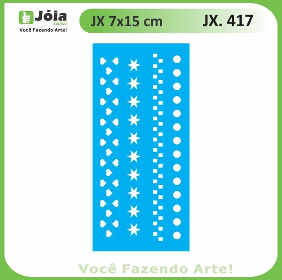 Stencil JX 417