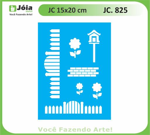 stencil JC 825