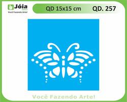 stencil QD 257