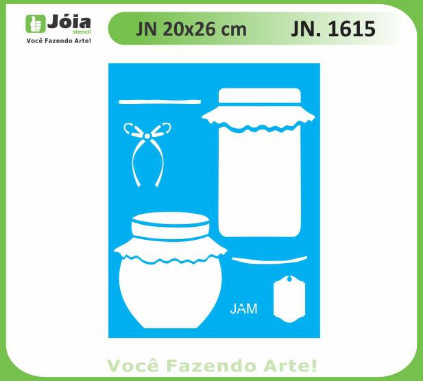 Stencil JN 1615