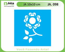 stencil JA 098