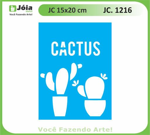 stencil JC 1216
