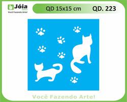 stencil QD 223