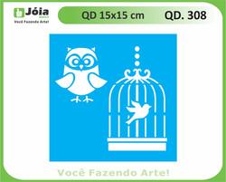 stencil QD 308