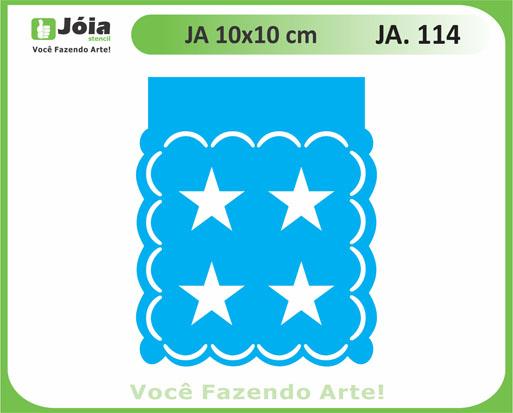 stencil JA 114