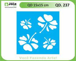 stencil QD 237