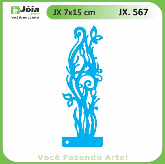 Stencil JX 567