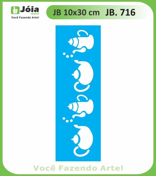 Stencil JB 716