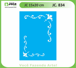 stencil JC 834