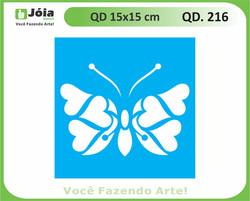 stencil QD 216