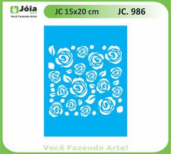 stencil JC 986